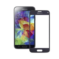 Cristal Exterior Samsung Galaxy S5 Mini -Azul Oscuro