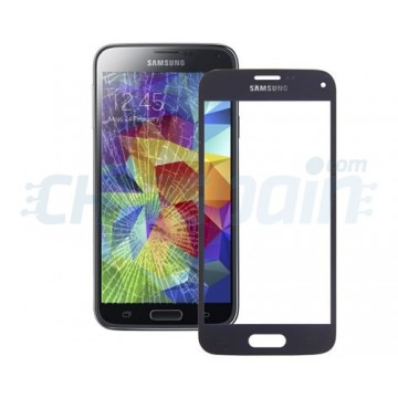 Exterior Glass Samsung Galaxy S5 Mini -Dark Blue