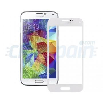 Cristal Exterior Samsung Galaxy S5 Mini -Blanco