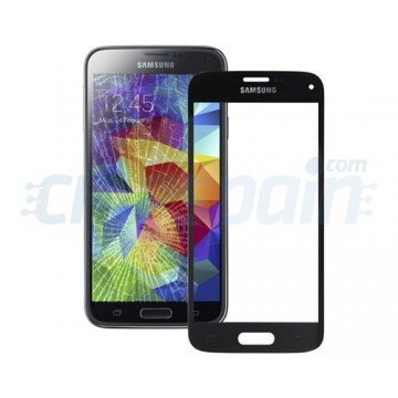 Exterior Glass Samsung Galaxy S5 Mini -Black