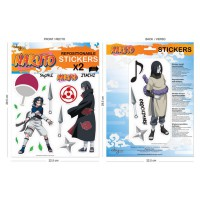 Naruto: 2 Mini-Murales (pegatinas) Naruto 1