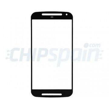 Exterior Glass Motorola Moto G2 (2014) Black