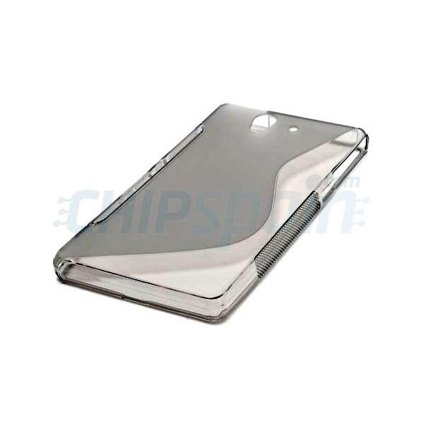 Funda tpu s line sony xperia z gris transparente - Funda xperia z tablet ...
