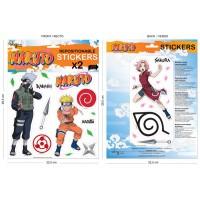 Naruto: 2 Mini-Murales (pegatinas) Naruto 2