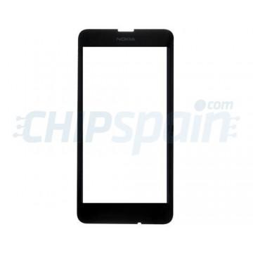 Vidro Exterior Nokia Lumia 630/Nokia Lumia 635 -Preto