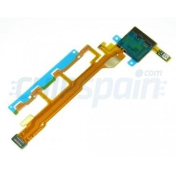 Flex Botones Laterales y Microfono Sony Xperia Z L36H C6603