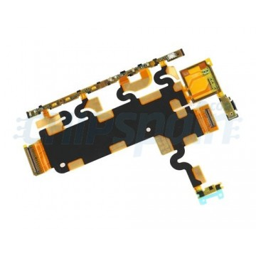 Botões laterais e Flex Microfone Sony Xperia Z1 (L39H)