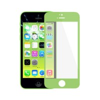 Vidro Exterior iPhone 5C -Verde
