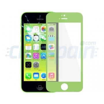 Cristal Exterior iPhone 5C -Verde