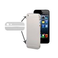Cristales Superior e Inferior iPhone 5/5S -Plata (Diamond Edition)