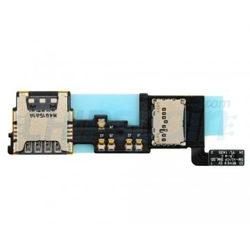 Lector de Tarjeta SIM Micro SD Samsung Galaxy Note 4 (N910F)