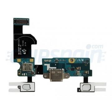 Flex Carga/laterais Chaves e Microfone Samsung Galaxy Mini S5 (G800F)