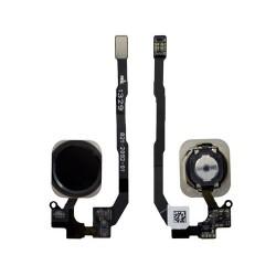 Botón Home Completo con Flex iPhone 5S iPhone SE Negro