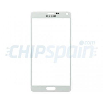 Cristal Exterior Samsung Galaxy Note 4 (N910F) -Blanco