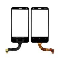 Vidro Digitalizador Táctil Nokia Lumia 620 (Rev 3.0) -Preto