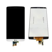 Ecrã Tátil Completo LG G3 S/LG G3 Mini (D722) -Branco