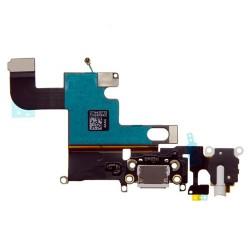 Cable Flex Conector Carga Audio y Micrófono iPhone 6 -Blanco