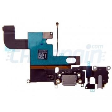 Cable Flex Conector Carga Audio y Micrófono iPhone 6 -Gris