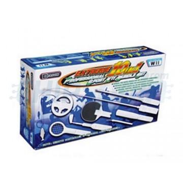 Kit 10 Acessórios Extreme Esporte Profissional Wii