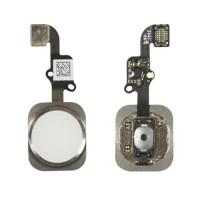 Botón Home Completo con Flex y lector de huellas ID iPhone 6 -Blanco