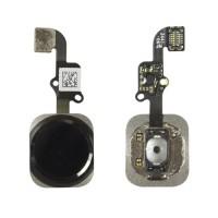 Botón Home Completo con Flex y lector de huellas ID iPhone 6 -Negro