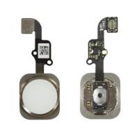 Botón Home Completo con Flex y lector de huellas ID iPhone 6 -Oro