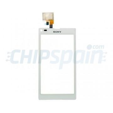 Vidro Digitalizador Táctil Sony Xperia L (C2105/C2104/S36H) -Branco