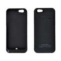 Carcasa Stand con Bateria Externa 4000mAh iPhone 6 -Negro