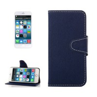 Funda Denim con Tarjetero iPhone 6 -Azul Oscuro