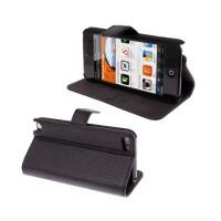 Funda Piel Litchi iPod Touch 5 Gen. -Negro