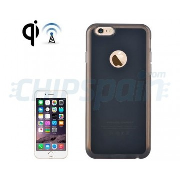 qi wireless charging case iphone 6 black. Black Bedroom Furniture Sets. Home Design Ideas