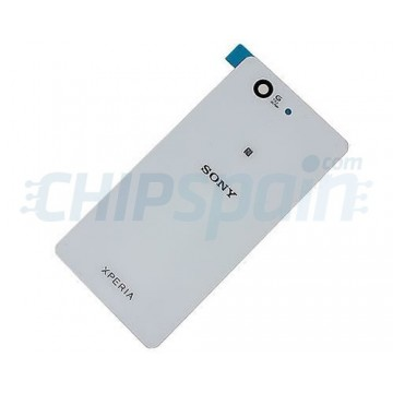 pretty nice 4a3ae d79d6 Glass Back Cover Sony Xperia Z3 Compact (D5803/D5833) -White