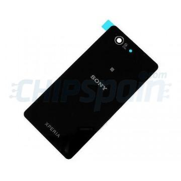 Cristal Trasero Sony Xperia Z3 Compact (D5803/D5833) -Negro