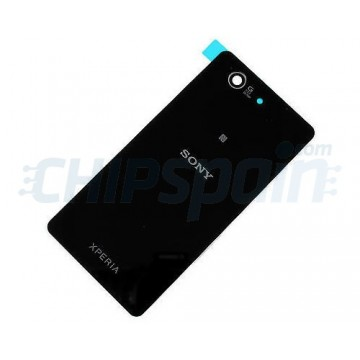 Glass Back Cover Sony Xperia Z3 Compact (D5803/D5833) -Black