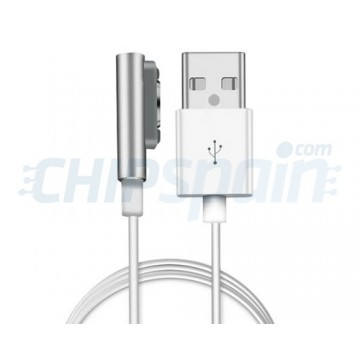 Magnetic Charging Cable Sony Xperia Z1/Z2/Z3/Compact -Silver