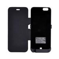 Funda Flip Stand con Bateria Externa 3000mAh iPhone 6 -Negro