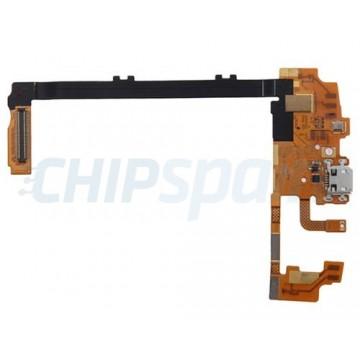 Conector USB Flex, conectores de microfone e antena LG Nexus 5 (D820/D821)