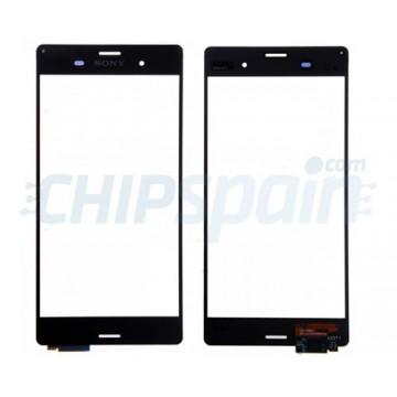 Vidro Digitalizador Táctil Sony Xperia Z3 (D6603/D6633/D6643/D6653/D6616) -Preto