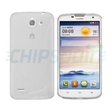 Capa de TPU S-Line Huawei Ascend G730 - Transparente