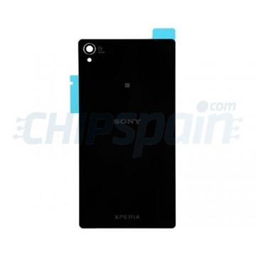 Tampa Traseira de Vidro Sony Xperia Z3 (D6603/D6633/D6643/D6653/D6616) -Preto
