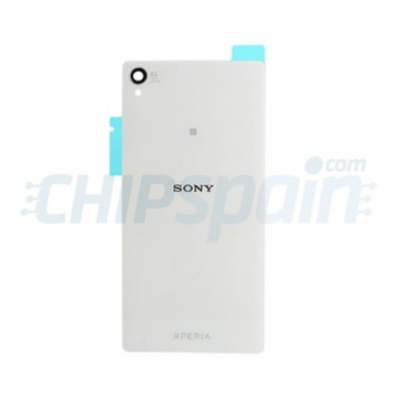 Cristal Trasero Sony Xperia Z3 (D6603/D6633/D6643/D6653/D6616) -Blanco