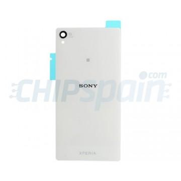 Tampa Traseira de Vidro Sony Xperia Z3 (D6603/D6633/D6643/D6653/D6616) -Branco