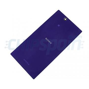 Glass Back Cover Sony Xperia Z Ultra -Purple