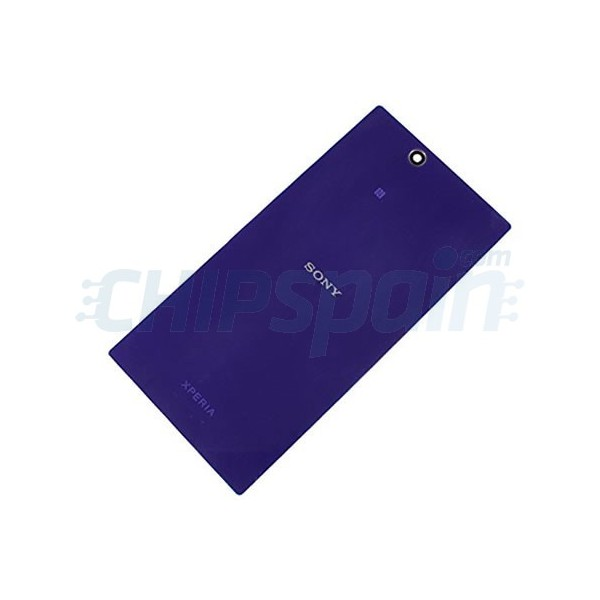 Glass Back Cover Sony Xperia Z Ultra -Purple - ChipSpain.com