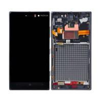 Tela Cheia com Moldura Nokia Lumia 830 -Preto