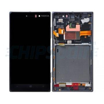 Pantalla Completa con Marco Nokia Lumia 830 - Negro