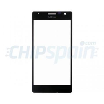 Exterior Glass Nokia Lumia 735 Nokia Lumia 730 Black
