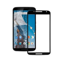 Exterior Glass Motorola Nexus 6 (XT1100) -Black