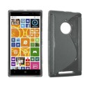 TPU Case S-Line Nokia Lumia 830 -Grey Transparent
