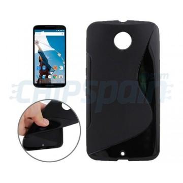 Capa de TPU S-Line Motorola Nexus 6 (XT1100) -Preto